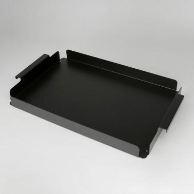 Metall-Tablett mit Griffen