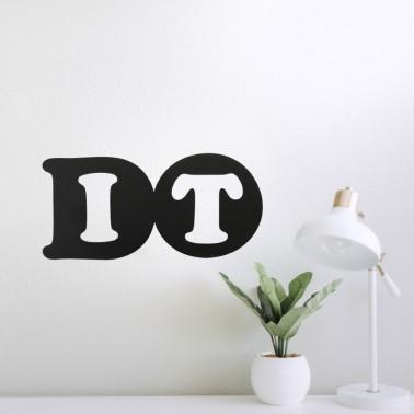Do_It Metallschild
